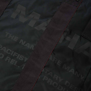 maharishi | Militype Tote Bag Black - Concrete