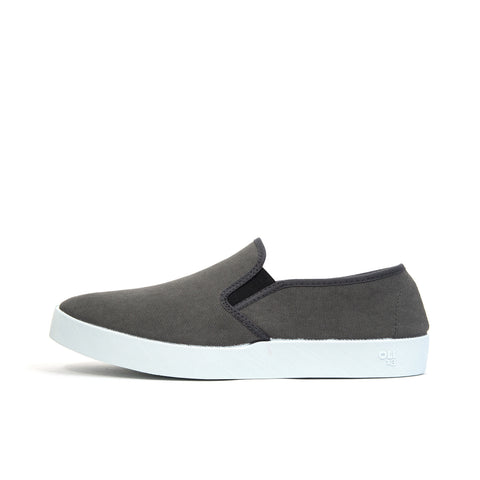 Oli 13 Slip-On Canvas Graphite/White - Concrete