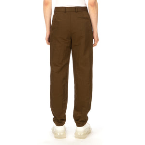 A-COLD-WALL* | Tapered Nylon Pants Umber - Concrete