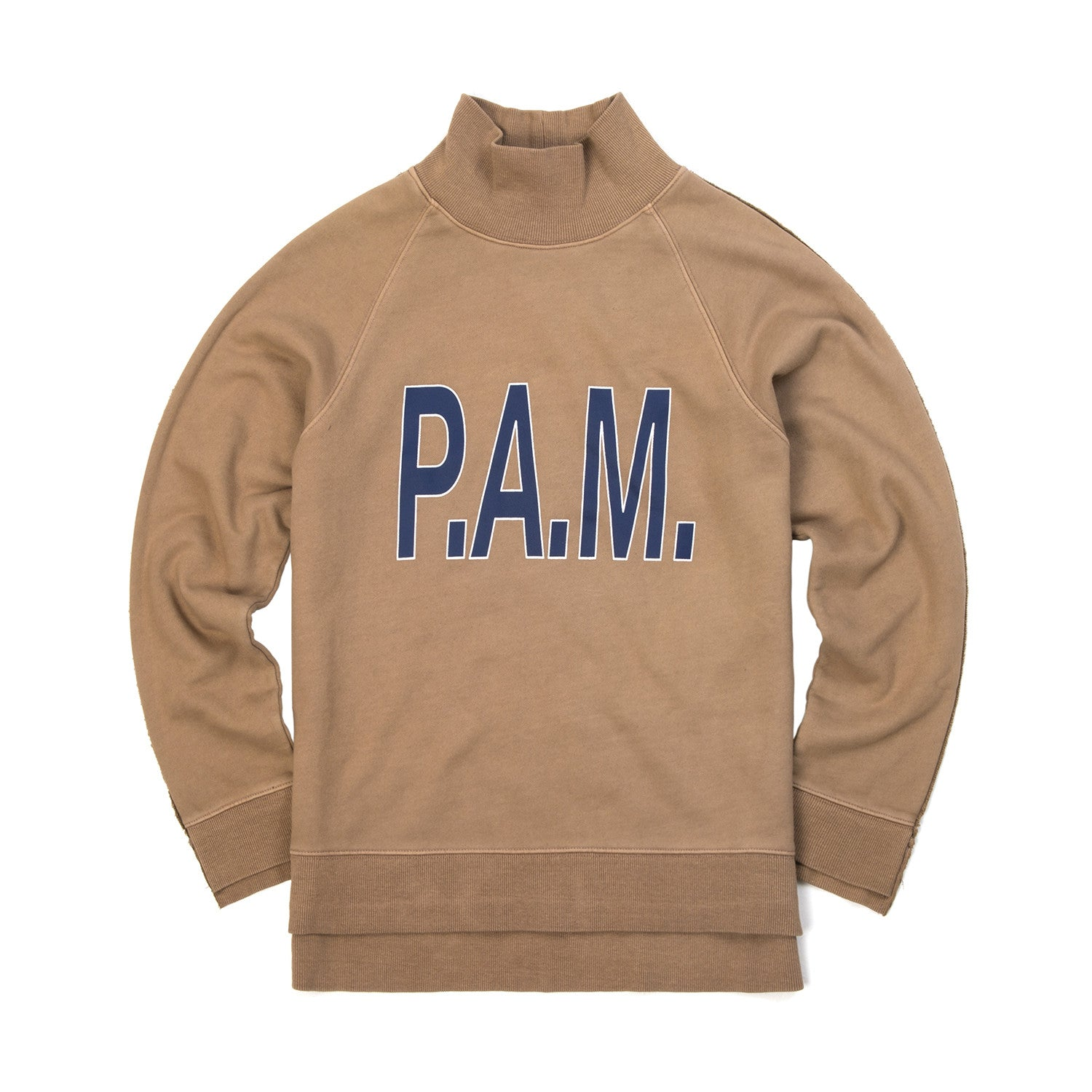 Perks and Mini (P.A.M.) W Box Hi Neck Sweat Sienna