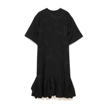 Load image into Gallery viewer, Perks and Mini (P.A.M.) Because Of Love Jersey Dress Black