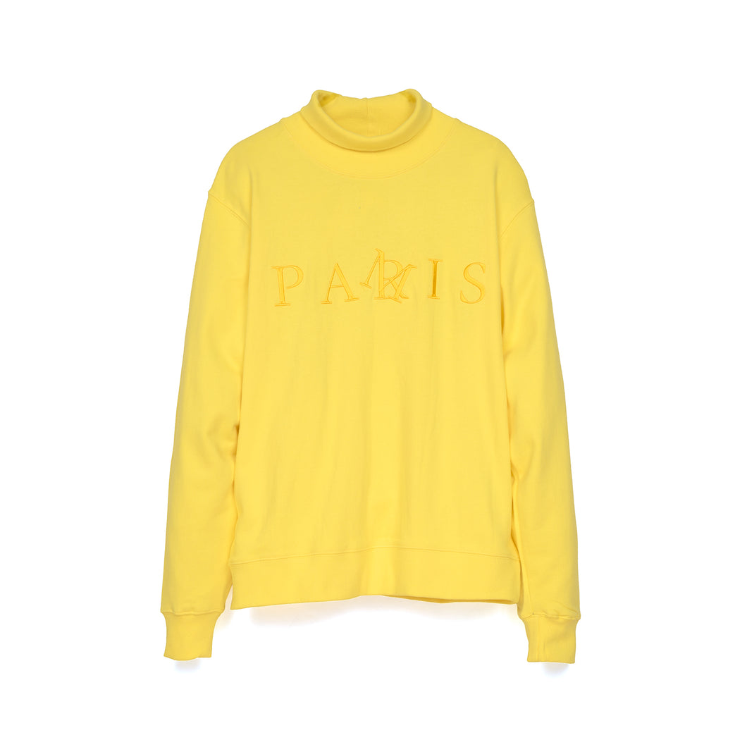 Perks and Mini (P.A.M.) Pamris Hi Neck Sweat Marigold