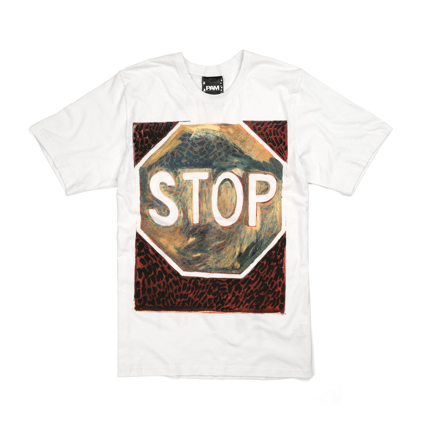 Perks and Mini (P.A.M.) Josh Smith S/S T-Shirt White