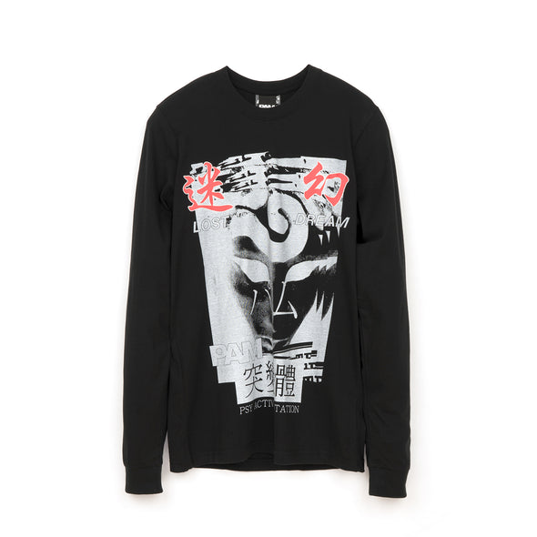 Perks and Mini (P.A.M.) Lost Dreams L/S T-Shirt Black