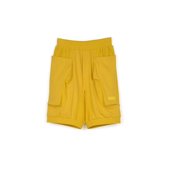 Perks and Mini (P.A.M.) | Lines In Time Duplo Shorts Gold - Concrete