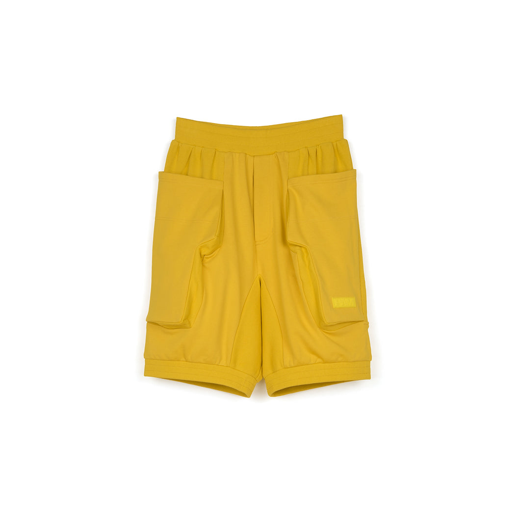 Perks and Mini (P.A.M.) Lines In Time Duplo Shorts Gold - Concrete