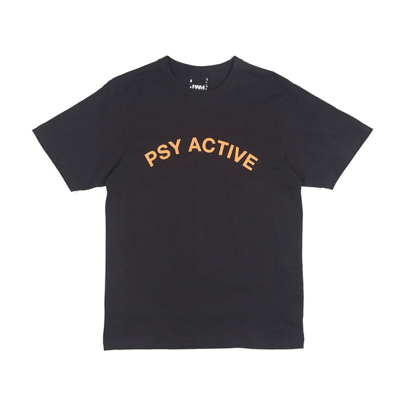 Perks and Mini (P.A.M.) | X-Perience Psy Active T-Shirt Black - Concrete