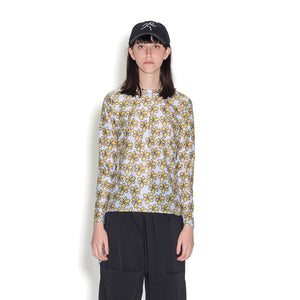 Perks and Mini (P.A.M.) | Gated Sport Eyelet L/S Top Daisies