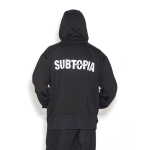 Perks and Mini (P.A.M.) | Subtopia Alien Hooded Sweat Black - Concrete