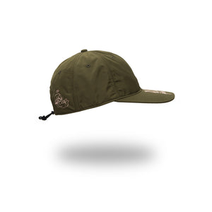 Perks and Mini (P.A.M.) | WATF Nylon Cap Khaki - Concrete