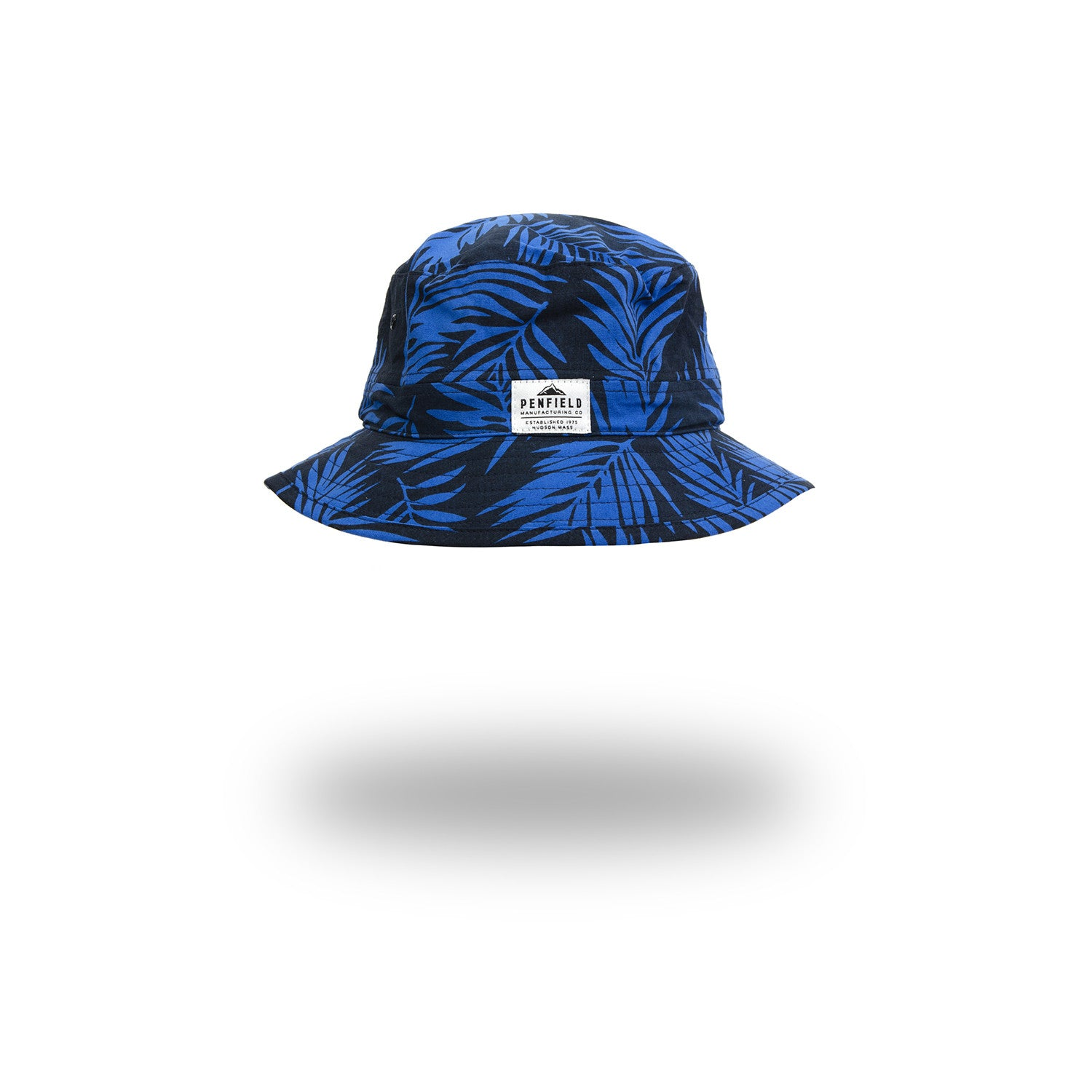 Penfield Baker Sun Hat Blue/Vine Palm - Concrete