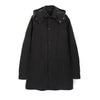 Penfield Ashfield Hooded Rain Jacket Black - Concrete