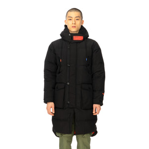 Puma | x ATTEMPT Down Coat Black - Concrete