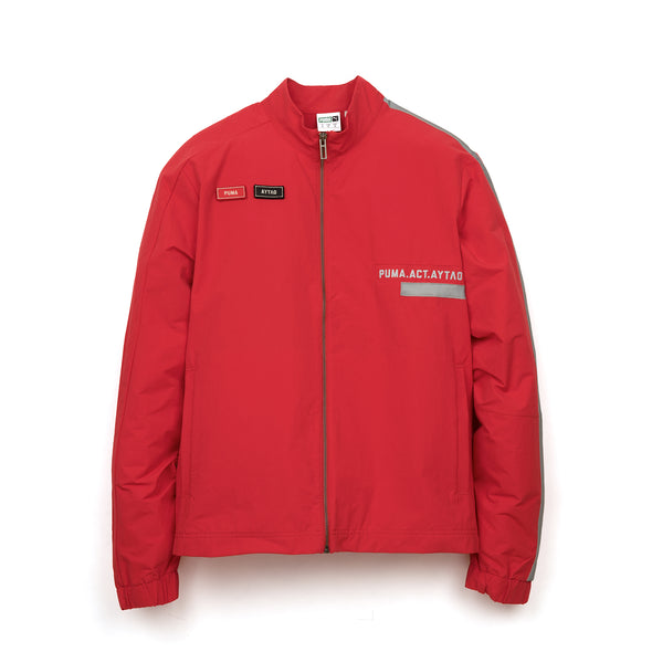 PUMA | x O.MOSCOW Track Top Ribbon Red - Concrete