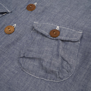 PEdALED Bike CPO Shirt Indigo