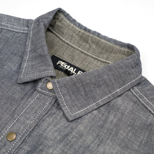 PEdALED Garage Shirt-Jacket Blue - Concrete