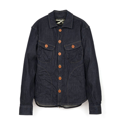 PEdALED Denim Bike CPO Shirt - Concrete