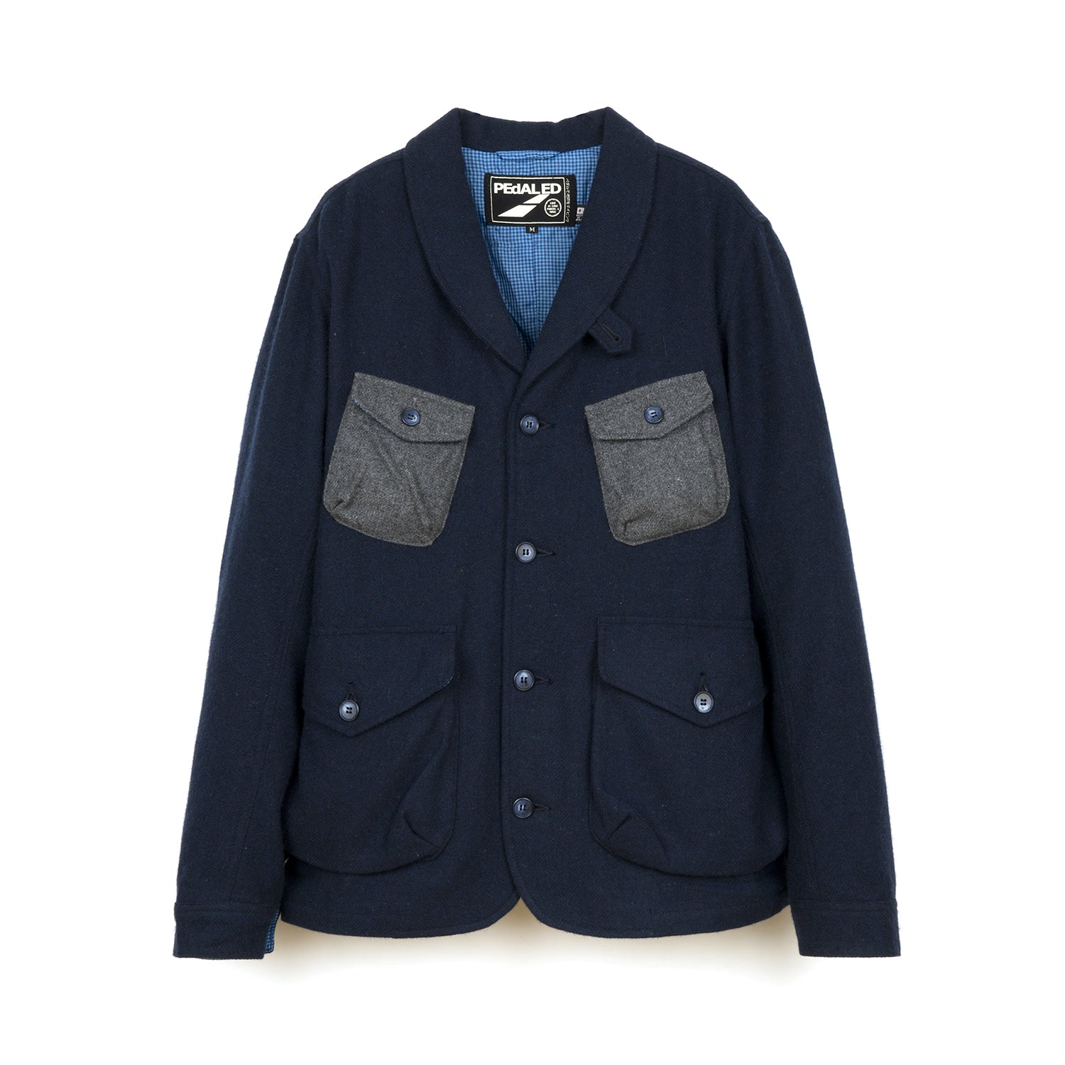 PEdALED Hacking Jacket Navy