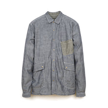 Load image into Gallery viewer, PEdALED Garage Shirt-Jacket Blue