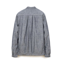 Load image into Gallery viewer, PEdALED Garage Shirt-Jacket Blue - Concrete