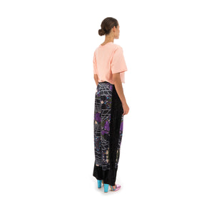 Perks and Mini (P.A.M.) Far Far Away Velvet Trousers Cosmic Camo Print