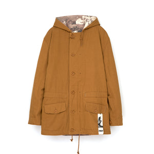 Perks and Mini (P.A.M.) Josh Smith Reversible Hooded Jacket Print
