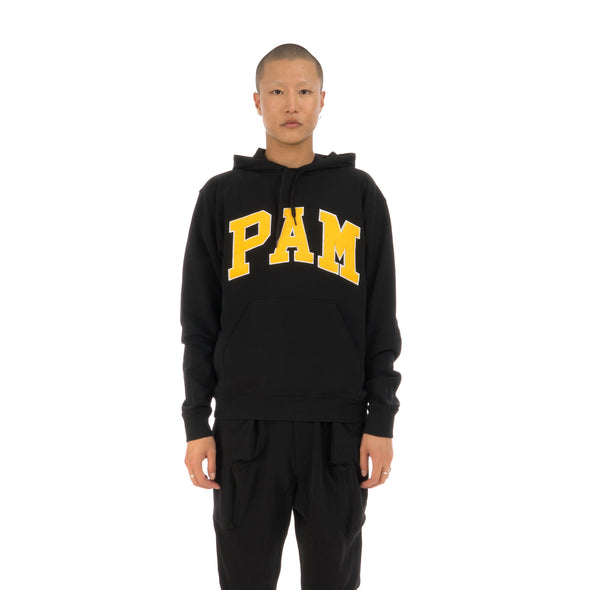 Perks and Mini (P.A.M.) Mind The P.A.M. Hooded Sweat Black - Concrete