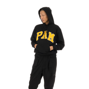 Perks and Mini (P.A.M.) | Mind The P.A.M. Hooded Sweat Black - Concrete