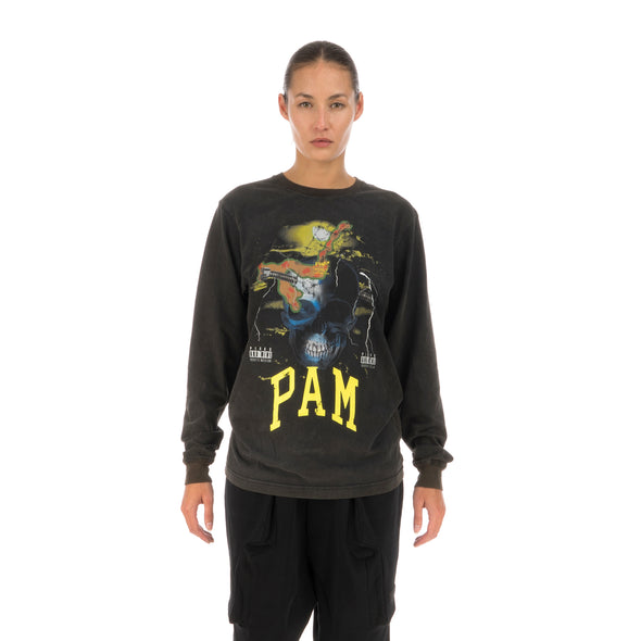 Perks and Mini (P.A.M.) On Your Mind L/S T-Shirt Black