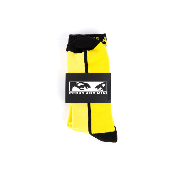 Perks and Mini (P.A.M.) Tech Socks Yellow - Concrete