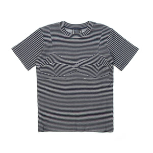 Perks and Mini (P.A.M.) W Holiday Top Navy Stripe - Concrete