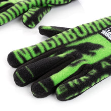Load image into Gallery viewer, Perks and Mini (P.A.M.) | x NEIGHBORHOOD Fleece Gloves Black - Concrete