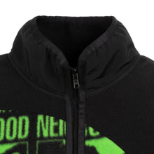 Load image into Gallery viewer, Perks and Mini (P.A.M.) | x NEIGHBORHOOD Fleece Jacket Black - Concrete