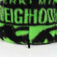 Load image into Gallery viewer, Perks and Mini (P.A.M.) | x NEIGHBORHOOD Fleece Mask Black