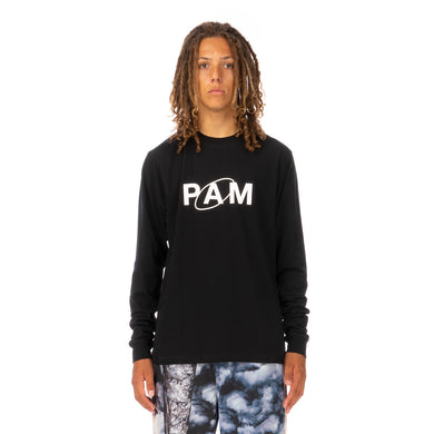 Perks and Mini (P.A.M.) | Ellipse L/S T-Shirt Black - Concrete