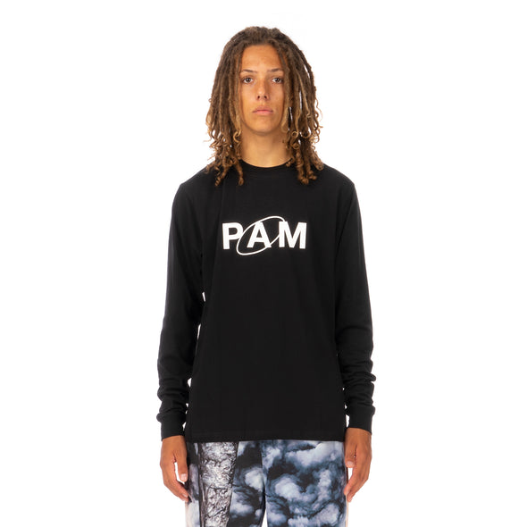 Perks and Mini (P.A.M.) | Ellipse L/S T-Shirt Black