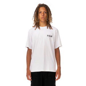 Perks and Mini (P.A.M.) | Ellipse T-Shirt Optic White