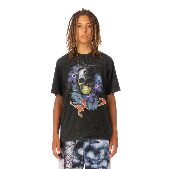 Perks and Mini (P.A.M.) | Lucid Mind T-Shirt Washed Out Black - Concrete