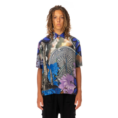 Perks and Mini (P.A.M.) | The Depths Printed Shirt Multi - Concrete