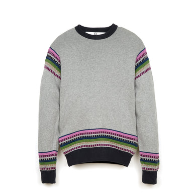 Peter Jensen M Nordic Jumper Grey