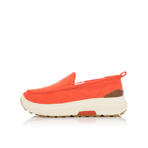 Poggy's Box | x Suvsole Corduroy Mouton Loafers Orange - Concrete