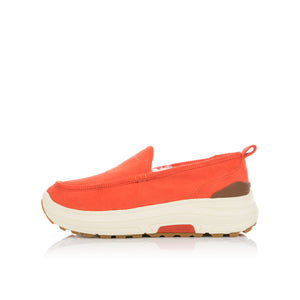 Poggy The Man x Suvsole Corduroy Mouton Loafers Orange