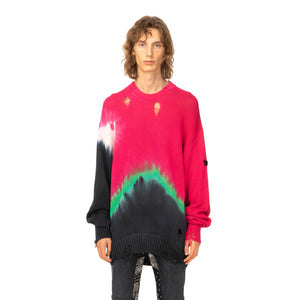 Poggy's Box | x FORSOMEONE Tie Dye Damage Knit Pink - Concrete