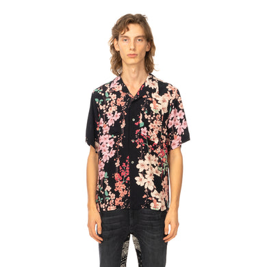 Poggy's Box | x FORSOMEONE Flower Shirt Black