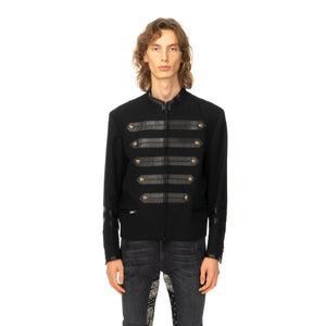 Poggy's Box | x FORSOMEONE Napoleon Jacket Black - Concrete
