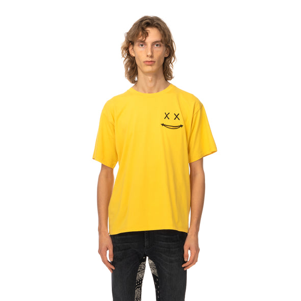 Poggy's Box | x FORSOMEONE Smile T-Shirt Yellow - Concrete