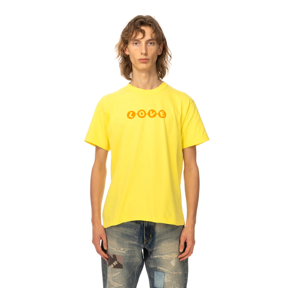 Poggy's Box | Love T-Shirt Yellow - Concrete