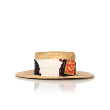 Afbeelding in Gallery-weergave laden, Poggy's Box | x The Dog & Co. Hat Natural / White