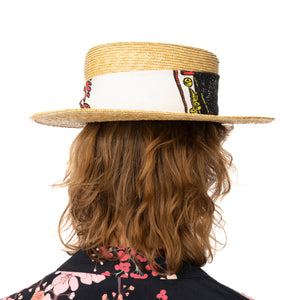 Poggy's Box | x The Dog & Co. Hat Natural / White