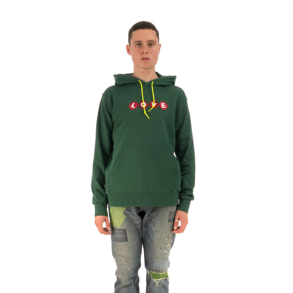 Poggy The Man x Raccho 'Love Sweat Hoodie' Green